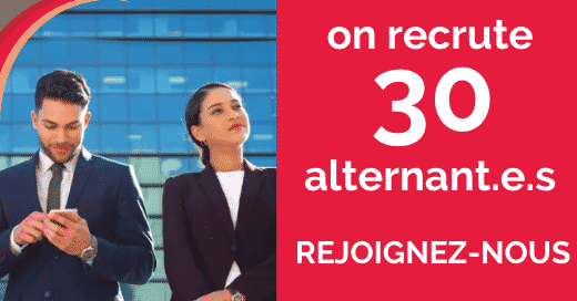 Ergalis recrute 30 alternants